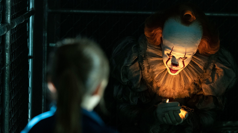 Pennywise sure is a creepy dude, huh?