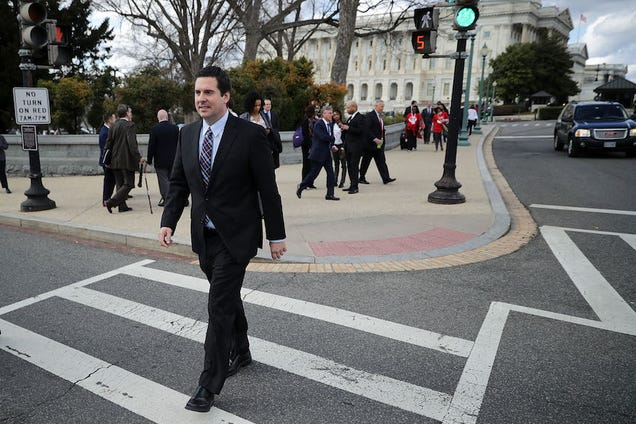 Devin Nunes Is Still Looking at Russia Intelligence, Despite Recusing Himself from Investigation