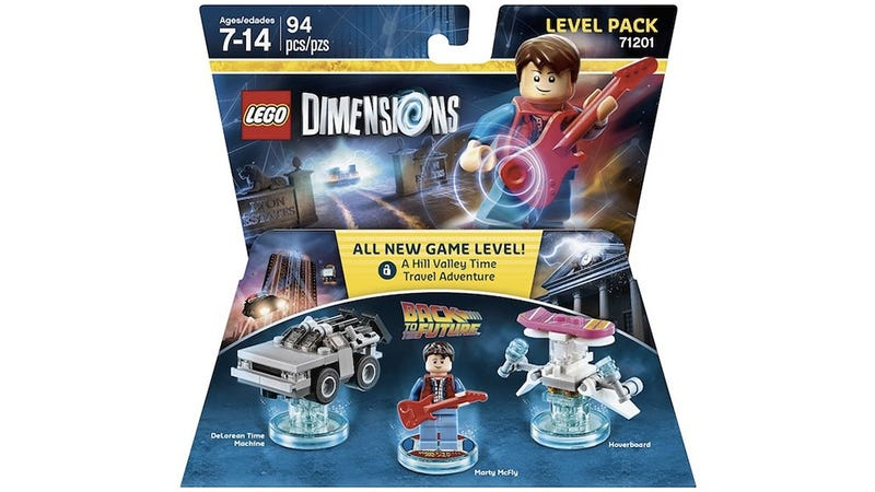 Illustration for article titled Our first look at the expansion packs for the Lego Dimensionsgame