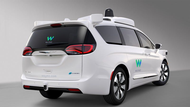Illustration for article titled Waymo CEO: Our Self-Driving Car Tech Would've Avoided Deadly Uber Crash