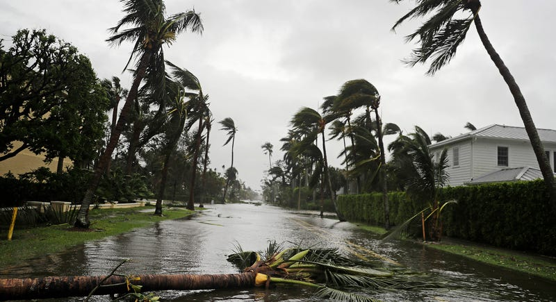 Paso del huracán Irma. AP