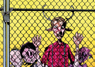 Illustration for article titled Jeff Lemire tells us about the post-apocalyptic manimals of Sweet Tooth