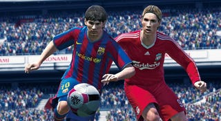 Illustration for article titled Pro Evo Soccer's Demo Hits Consoles Tomorrow