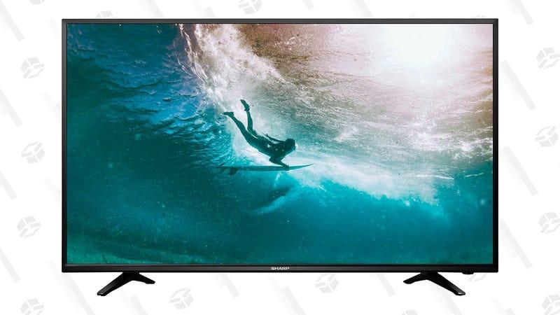 "Sharp 40"" (1080p) LED TV | $130 | Walmart"