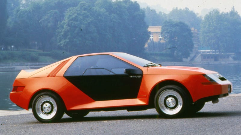 Illustration for article titled The 1979 RSX Rally Concept Is The Coolest Mustang Never Built