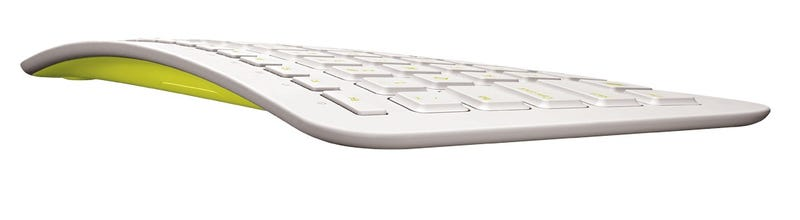 Illustration for article titled Microsoft Arc Keyboard Gets Surprisingly Good Looking Paint Job
