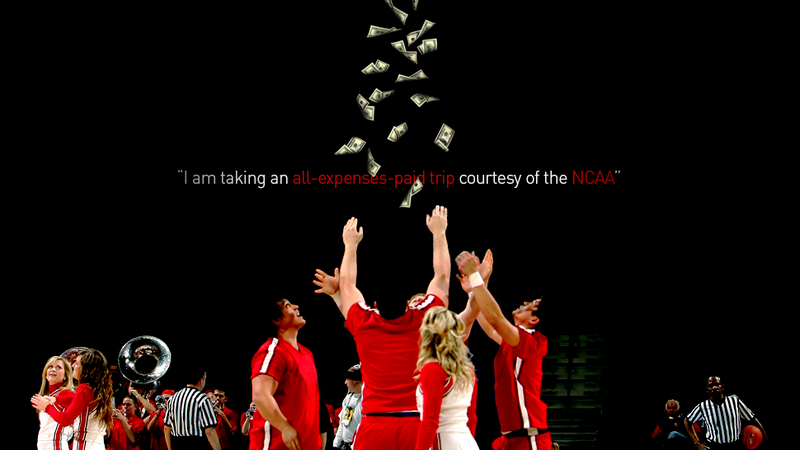 Illustration for article titled I Got Paid To Cheer For Another NCAA Tournament Team, And Other Confessions Of A Spirit Squad Member