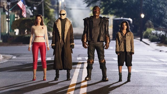 Damn, guess we'll have to get a DC Universe subscription, because Doom Patrol is worth it