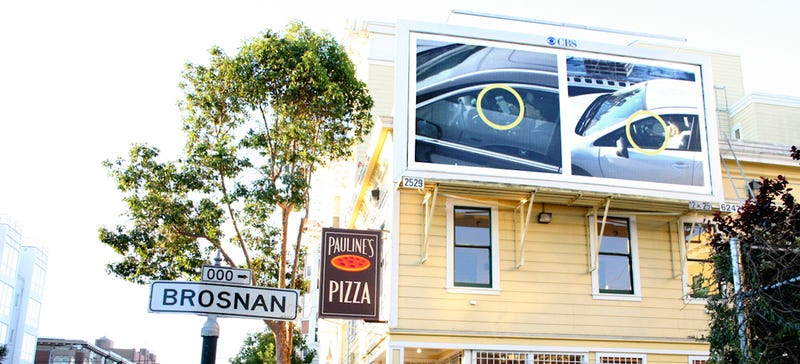 Illustration for article titled Text While Driving In The Bay Area And You Might End Up On A Billboard
