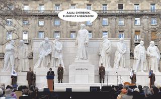 Illustration for article titled Ki dugta el Kossuth Lajos százasát?