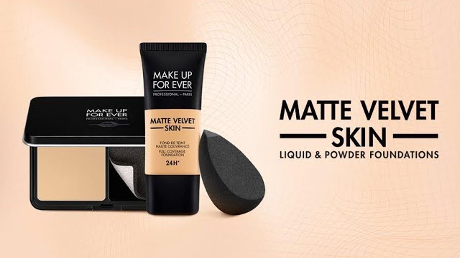 Makeup Forever Matte Velvet Foundation Shade Finder Newmakeupjdi Co