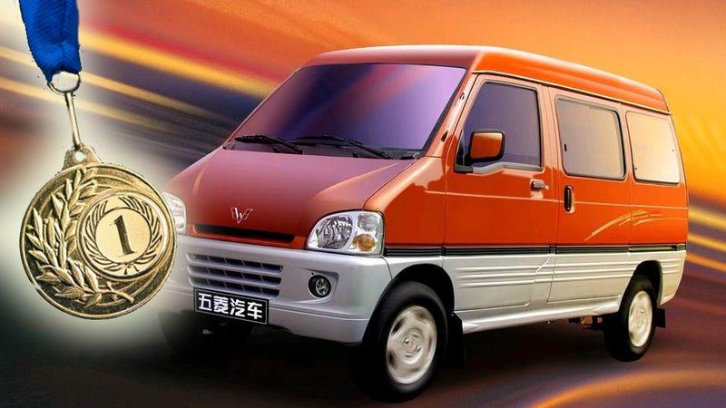 gms best selling car is this funny looking little van