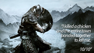 Illustration for article titled Skyrim, As Told By Steam Reviews