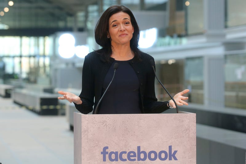 Facebook Chief Operating Officer Sheryl Sandberg in France on Oct. 10, 2017 (Thibault Camus/AP Images)