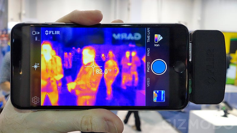 Flir S New Tiny Predator Vision Thermal Camera Now Fits