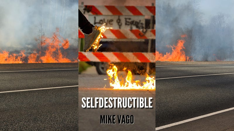 Illustration for article titled Check out our freelancer Mike Vago's new book, Selfdestructible
