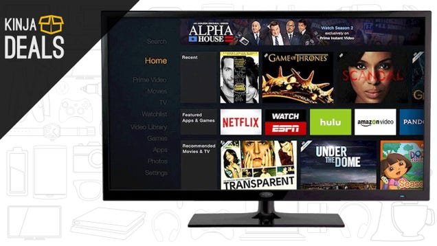 Amazon's 4K Fire TV and Affordable Fire TV Stick Are Both On Sale For Black Friday