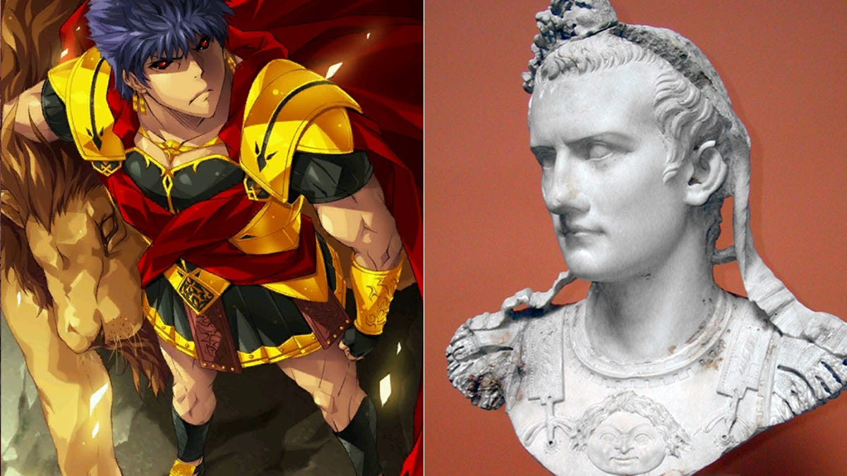 Legends of History, Meet Your Anime Counterparts