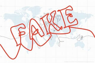 Illustration for article titled GPS-Tracked Biggest Drawing in the World is Complete Fake