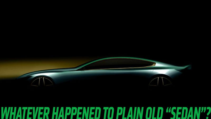 Illustration for article titled I Hope That New BMW Won't Be Called A 'Gran Coupe' Or Some Bullshit