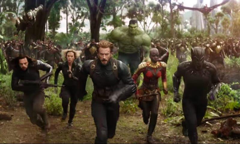 Illustration for article titled Marvel's Infinity War isgoing down sooner than we thought