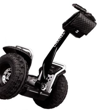 Illustration for article titled Chanel Segway is Pretty Much Inexcusable