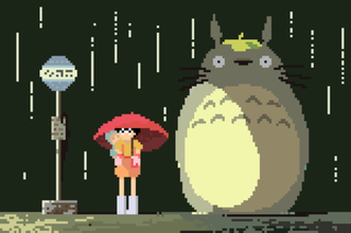Illustration for article titled Miyazaki Films Would Be Just As Pretty With Pixel Art