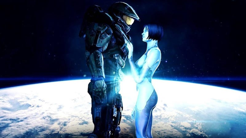 Cortana and master chief fucking
