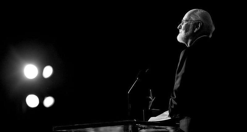 John Williams at Thursday's AFI event in his honor. The composer revealed he'll score the next Star Wars and Indiana Jones films. Image: Mike Windle/Getty Images for Turner