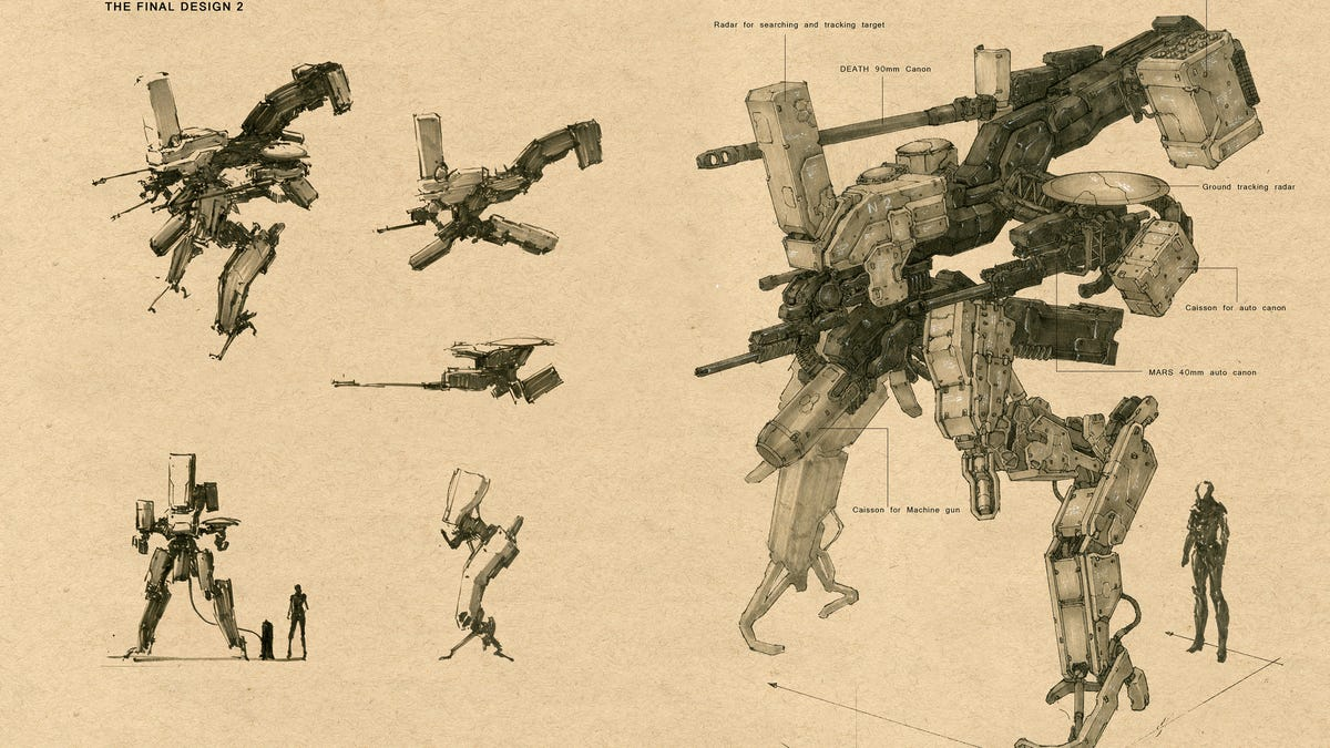 An Old-Timey Guide To Giant Fighting Mechs