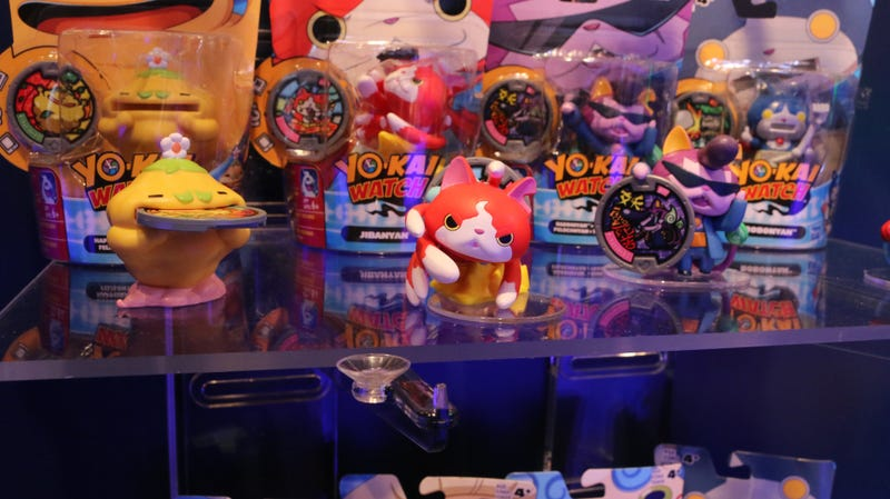 Illustration for article titled There Are So Many More Yo-Kai Watch Toys Coming You Guys