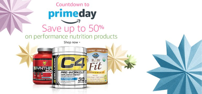 Performance Nutrition Sale, Prime members only