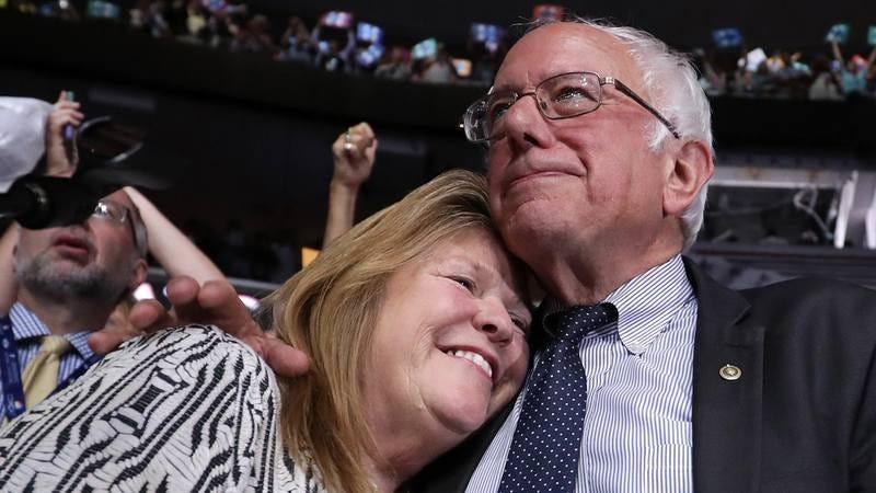 Bernie and Jane Sanders.