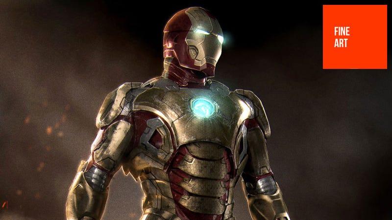 Illustration for article titled Iron Man? More Like Golden Man