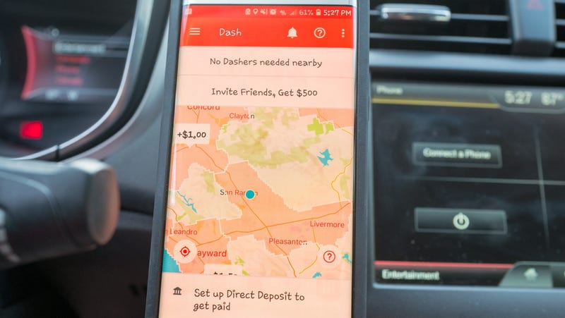 DoorDash claims its drivers make on average $17 50 hourly, actual