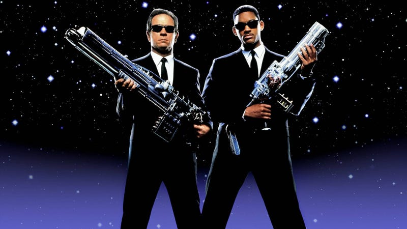 You may not realize it, but the original Men in Black threads a fine line in Hollywood history.