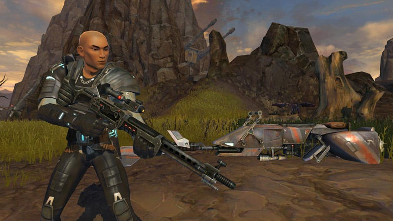 Illustration for article titled And The Next Star Wars: The Old Republic Class Reveal Is...