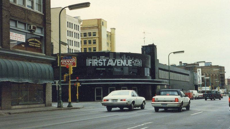 First Avenue circa 1986. Photo by Larry Smith.