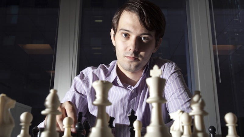 Illustration for article titled Flowmaster Martin Shkreli Might Drop Some Sick Beats On Wednesday