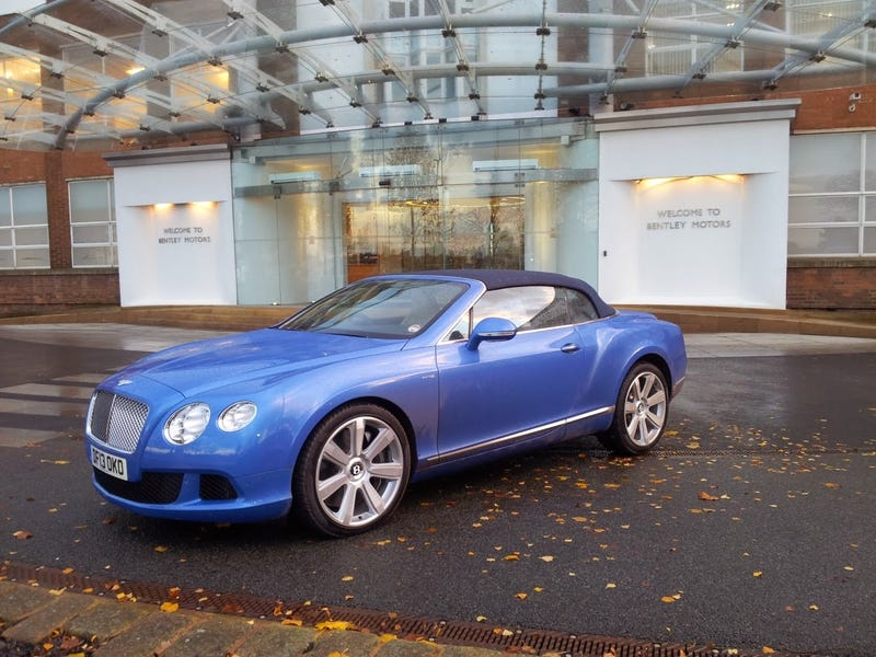 Illustration for article titled Bentley Continental GTC W12 Review