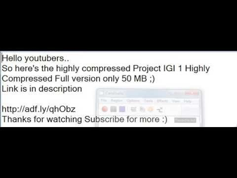 Download Project Igi 3 Highly Compressed Pc