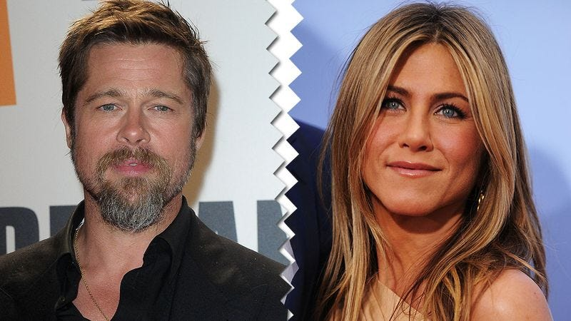 Illustration for article titled Trouble In Paradise? Brad Pitt And Jennifer Aniston Are Spending The Holidays Apart