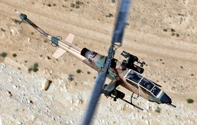 Illustration for article titled Israel Gave Jordan 16 Cobra Attack Helicopters To Repel ISIS