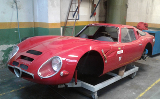 Illustration for article titled anyone want a replica Alfa Romeo TZ2?