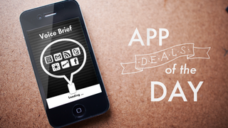 Illustration for article titled Daily App Deals: Get Voice Brief for iOS for $1.99 in Today's App Deals