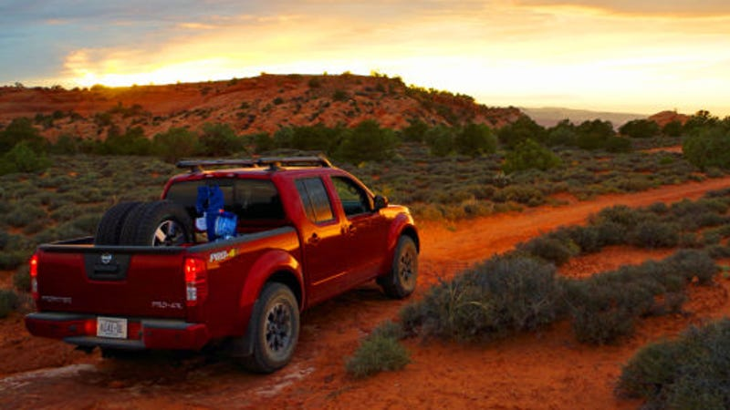 2014 nissan frontier pro 4x off road review fear and loathing in moab. Black Bedroom Furniture Sets. Home Design Ideas