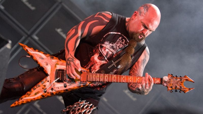 Illustration for article titled Kerry King of Slayer