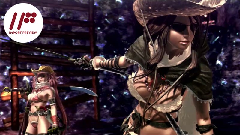 Illustration for article titled OneChanbara Z2: Chaos Brings Zombie Killing and Fanservice Galore