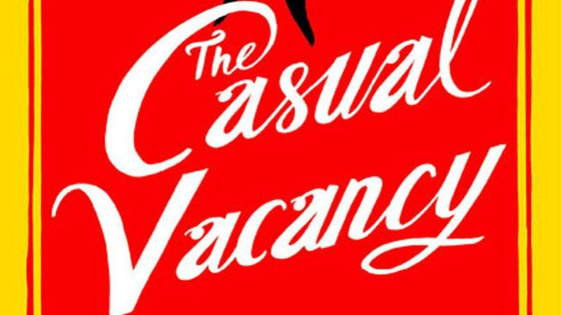 Illustration for article titled J.K. Rowling:The Casual Vacancy