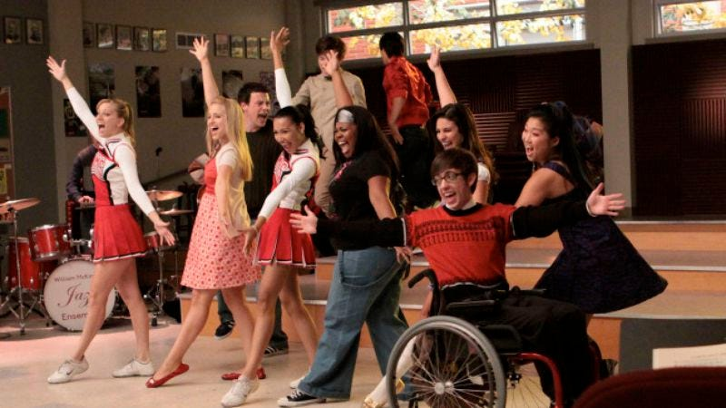 "Illustration for article titled Glee: ""Sectionals"""